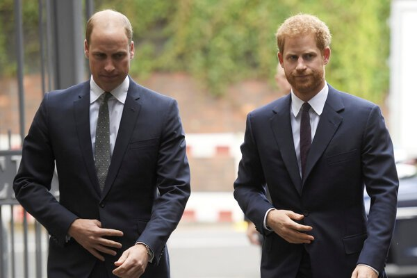 Princovia William a Harry.