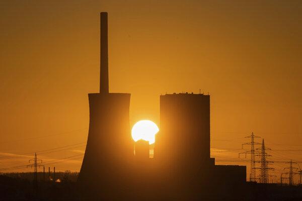 Elektráreň v nemeckom meste Peine.