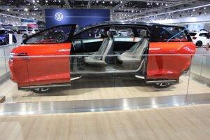 Koncept Volkswagen ID Crozz II