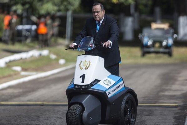 Alejandro Giammattei, prezident Guatemaly.