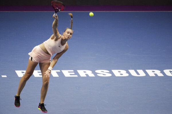 Jelena Rybakinová - ilustračná fotografia.