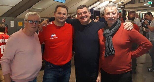 Stretnutia vo Viedni sledoval aj ex-tréner Topoľčian Pavel Farář.