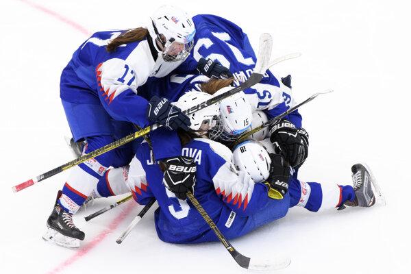 Slovenské hokejistky na Zimných olympijských hrách mládeže 2020.