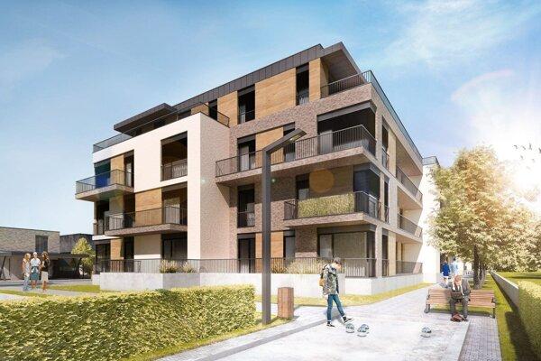 V pokojnej mestskej časti Nitra-Chrenová vyrastá nová obytná štvrť - Green Avenue.