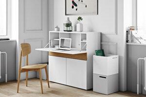 Úložný priestor je nedostatková záležitosť aj vo väčších bytoch. V garsónke s ním pracujte efektívne a využite ho zároveň ako stolík či dekoráciu.
