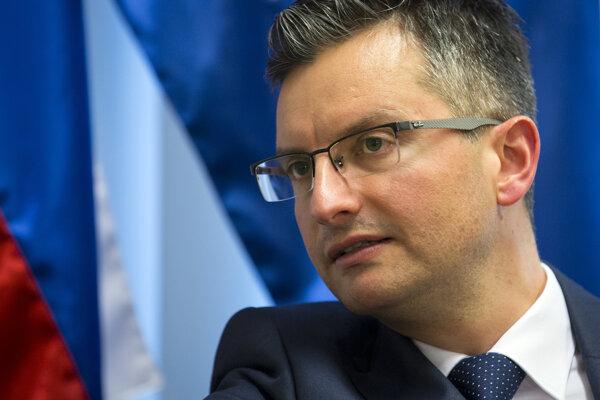 Slovinský premiér Marjan Šarec.