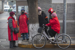 Obyvatelia Pekingu