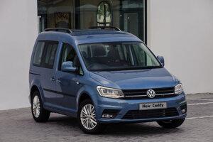 Volkswagen Caddy tretej generácie (2015-2020).