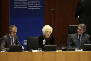 Pozvánku do pléna EP prijala aj pamätníčka holokaustu, doživotná talianska senátorka Liliana Segreová.