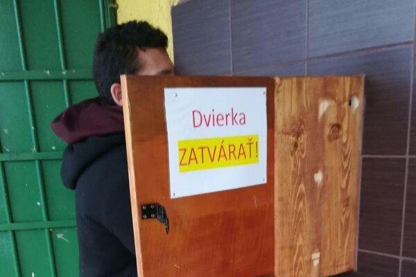 Automat na vodu v Rožňave.