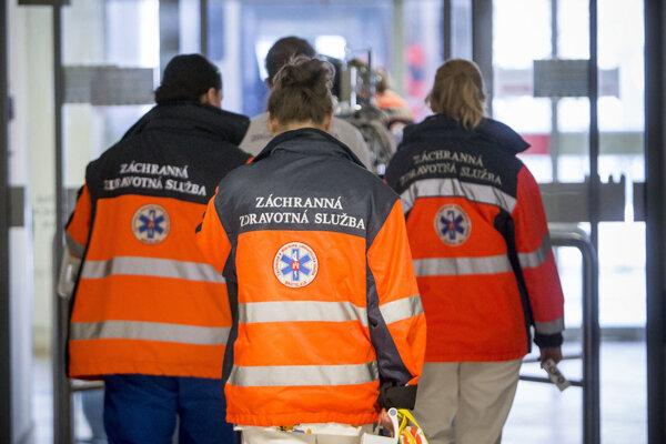 Práca záchranárov je náročná fyzicky, no najmä psychicky.
