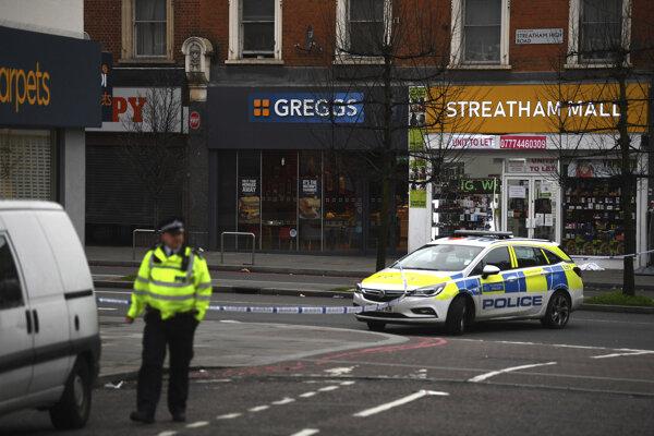 Polícia miesto činu uzavrela.