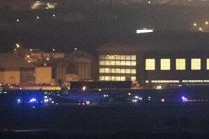 Boeing po úspešnom pristátí v Madride.