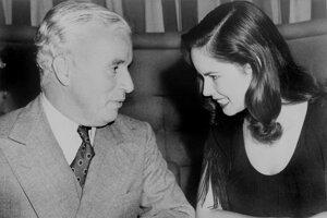 Oona O'Neillová a Charlie Chaplin
