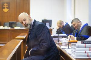 Obžalovaný podnikateľ a bývalý riaditeľ TV Markíza Pavol Rusko.