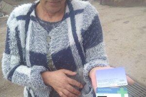 Obyvateľka obce, ktorej boli zneužité osobné údaje.