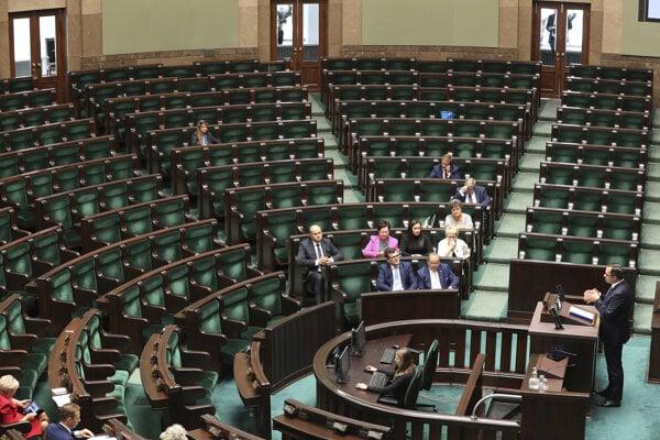Poľský parlament.