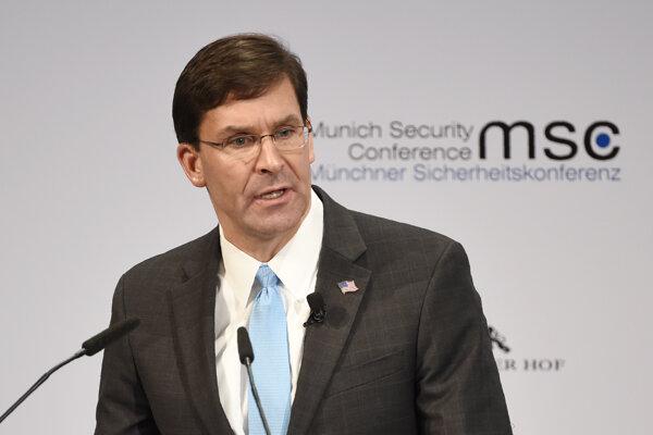 Americký minister obrany Mike Esper.