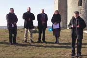 Zasvätenie strany Kotlebovci - ĽSNS a Slovenska