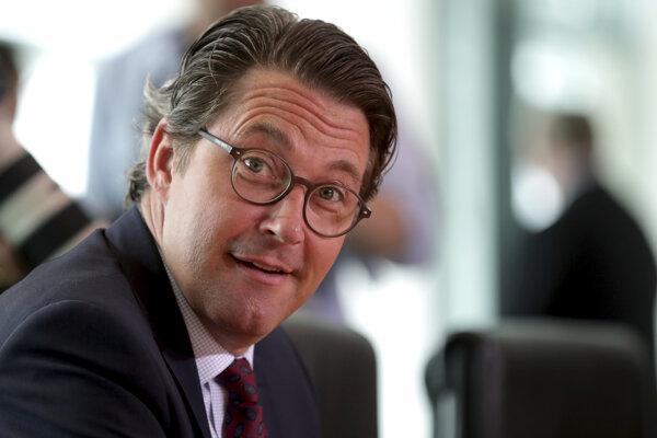 Nemecký minister dopravy Andreas Scheuer.