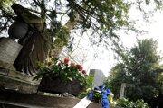 Bratislavský cintorín Kozia brána.