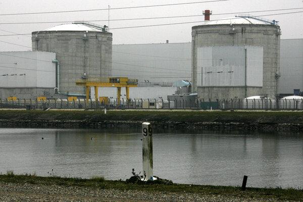 Jadrová elektráreň Fessenheim na východe Francúzska.