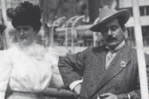 Giacomo Puccini a Elvira Bonturi