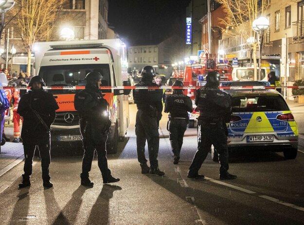 Polícia uzavrela časť mesta.