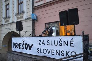 Spomienkové podujatie sa konalo aj v Prešove.