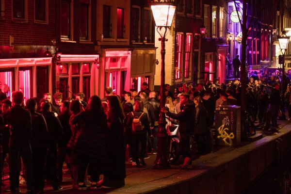 De Walletjes, švrť červených svetiel v Amsterdame.