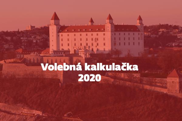 Volebná kalkulačka pre parlamentné voľby 2020
