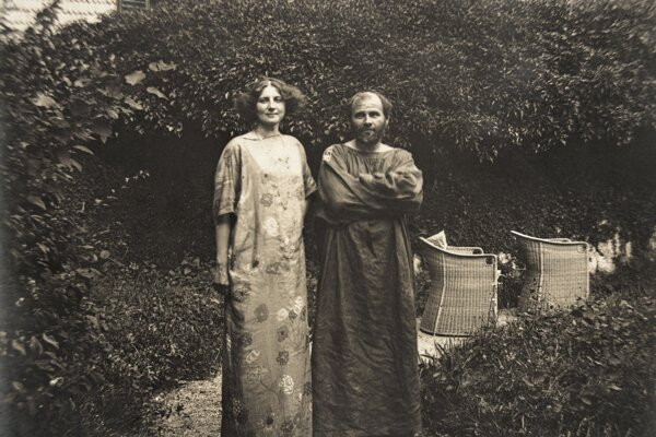 Emili Flögeová a Gustav Klimt