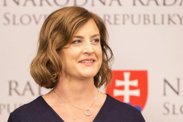 Nová ministerka kultúry Natália Milanová.