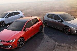 Volkswagen Golf vo verziách GTI, GTD a GTE