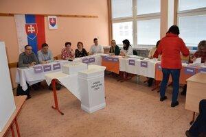 Voľby na liptovskomikulášskom sídlisku Podbreziny.