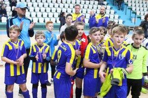 Nádeje zo Zbehov triumfovali na halovom turnaji Miniligy Stocha U11.