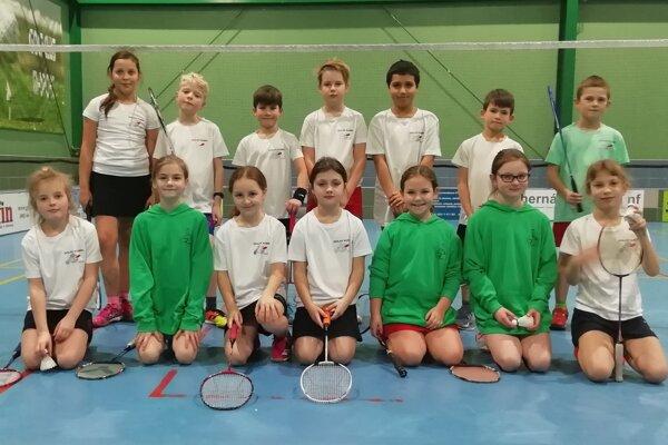 Ako prví sa do turnajového kolotoča zapojili hráči do jedenásť rokov.