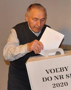 Onrej Šiška (96) zo Zuberca.