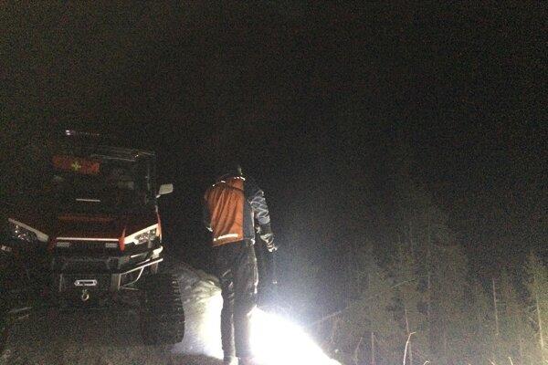 Horskí záchranári pomáhali maďarskej turistke.