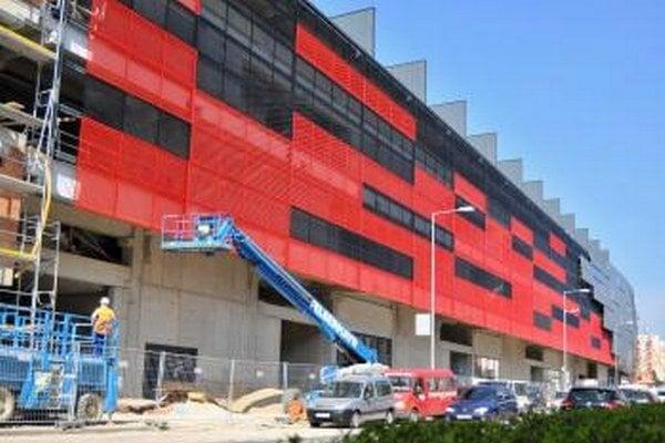 Výstavna City Areny napreduje, otvorenie je naplánované na 22. augusta.