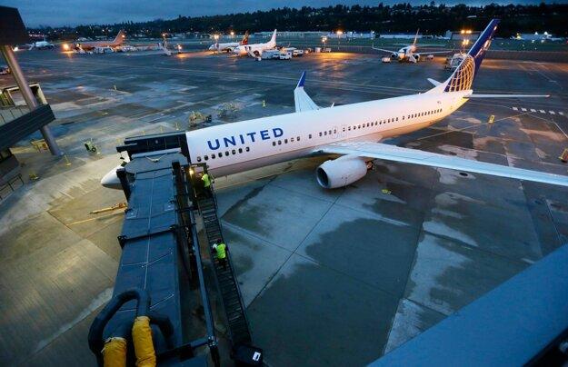 Lietadlo United Airlines