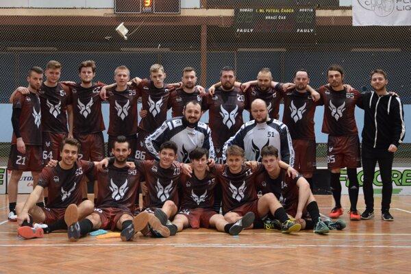 Florbalové mužstvo Devils Čadca.