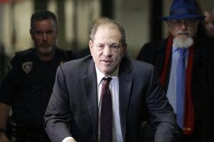 Bývalý americký filmový producent Harvey Weinstein.