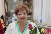 Eva Moravská pracuje 49 rokov na gynekologicko-pôrodníckom oddelení.