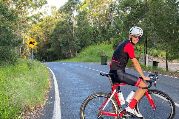 Richard Varga v Austrálii.