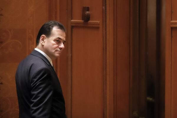 Rumunský premiér Ludovic Orban.