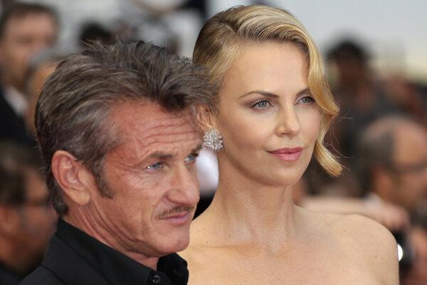 Sean Penn a Charlize Theron.