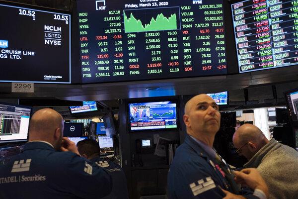 Wall Street - ilustračná fotografia.