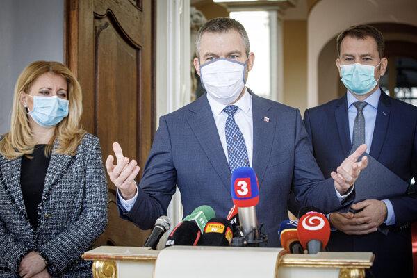Premiér Pellegrini oznámil ďalšie dva prípady nákazy chorobou COVID-19.