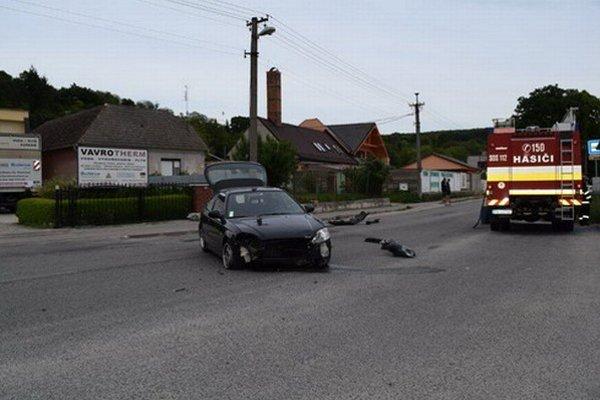 Nehoda v Ratnovciach.